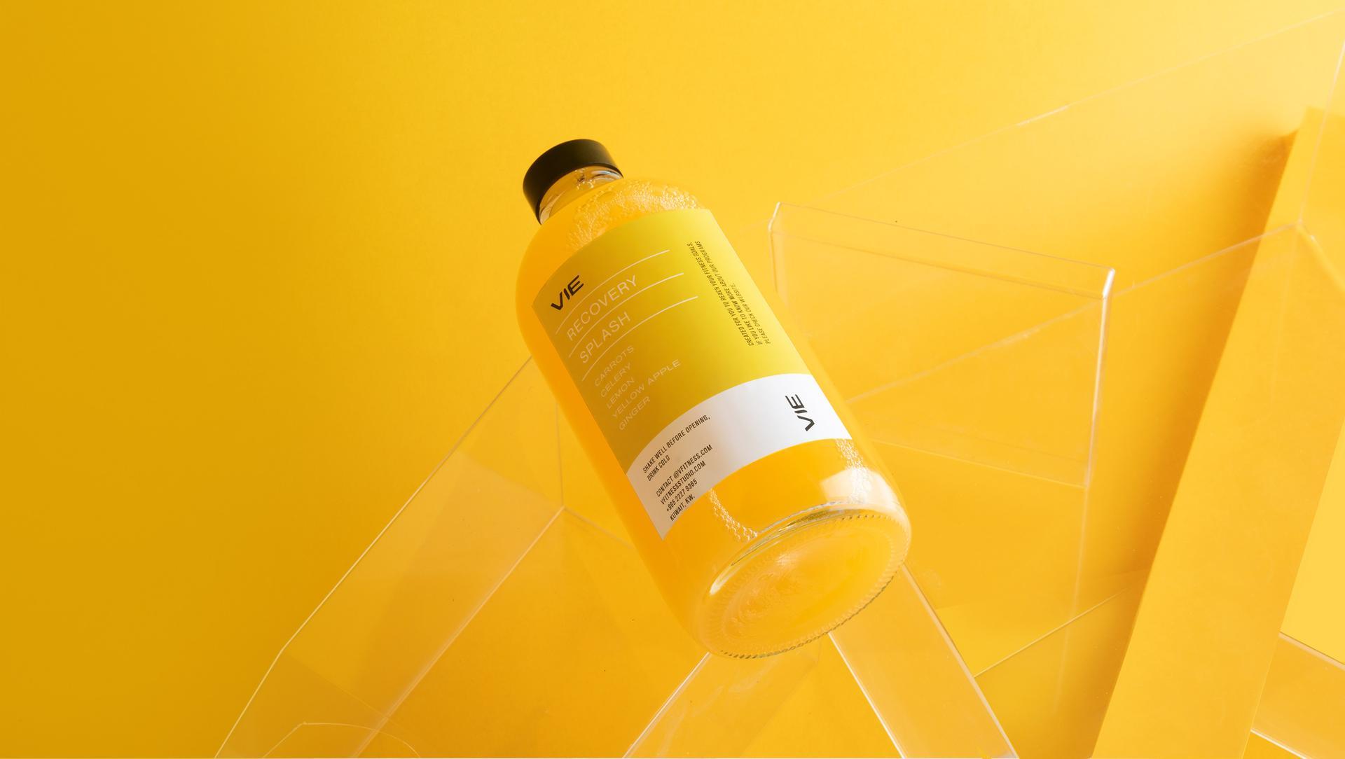 Simple Bottle Logo