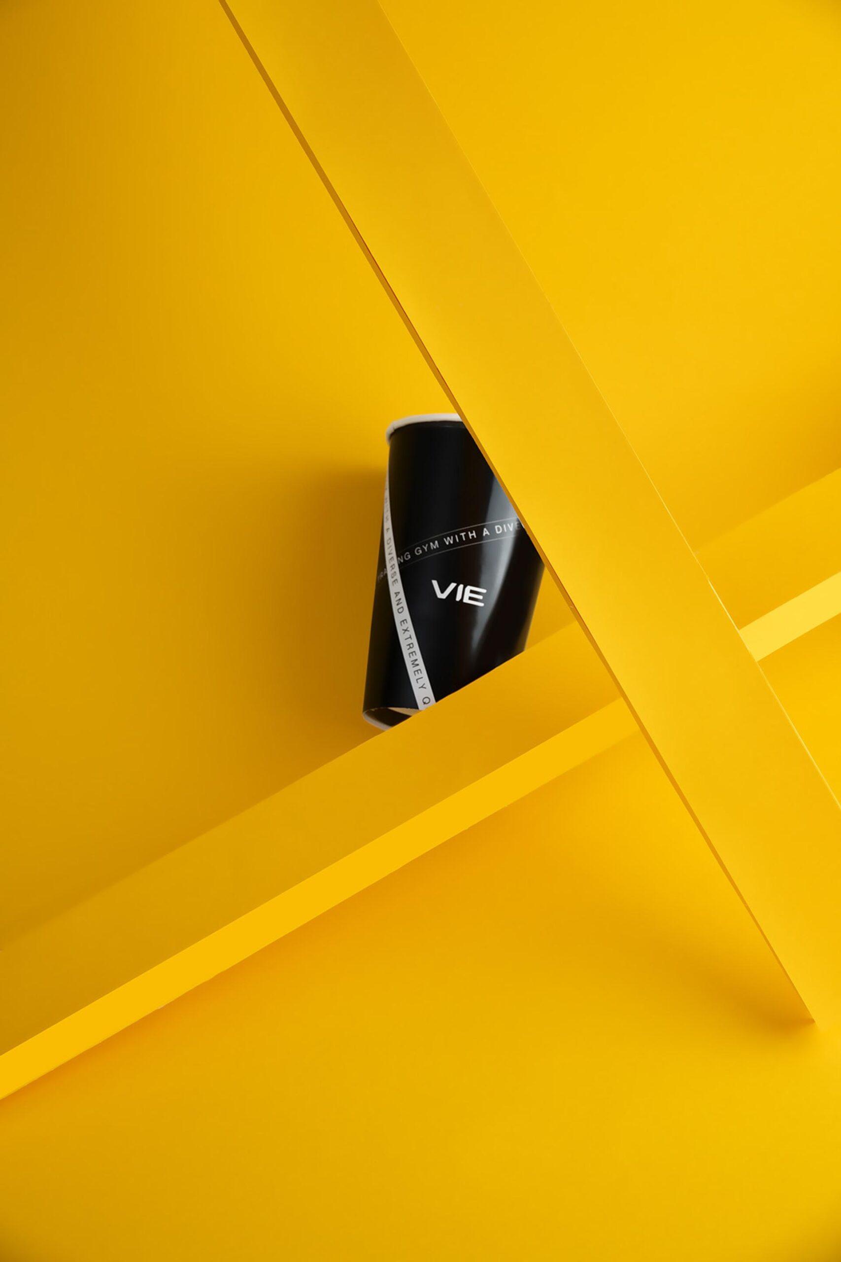 Black Cup UI Design